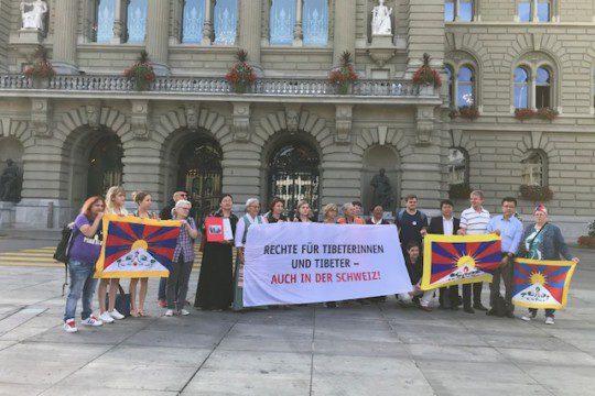 Einreichung Petition Tibet