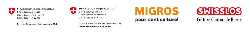 Logos: FRB, BAK, Migros, Swisslos
