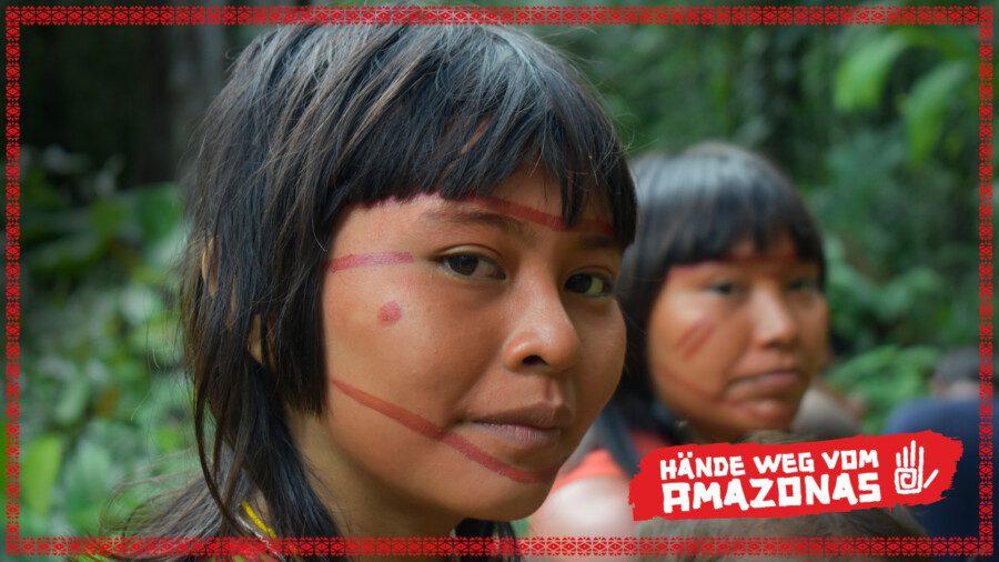 Indigene Frauen aus dem brasilianischen Amazonas