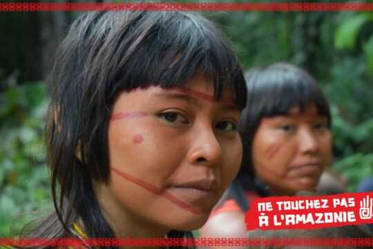 Des femmes indigènes de l'amazonie brésilienne