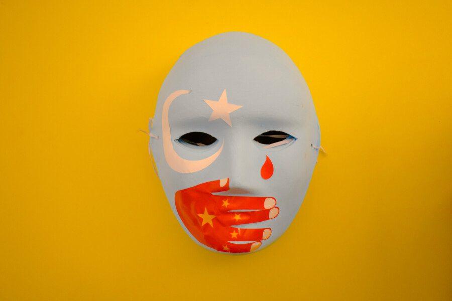 Uiguren Maske