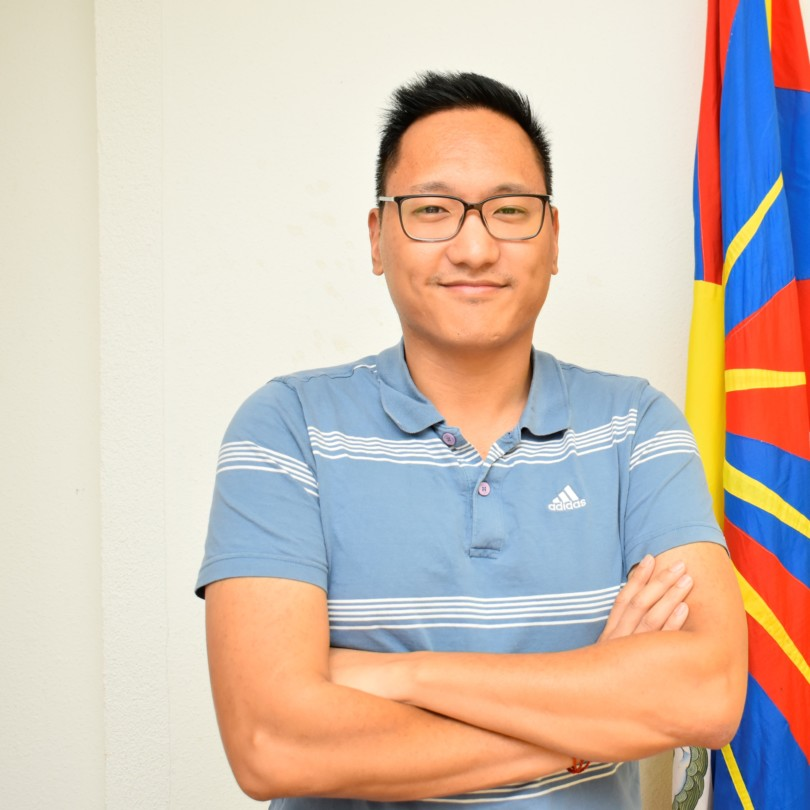 Jigme Adotsang, Co-Präsident Verein Tibeter Jugend in Europa (VTJE)