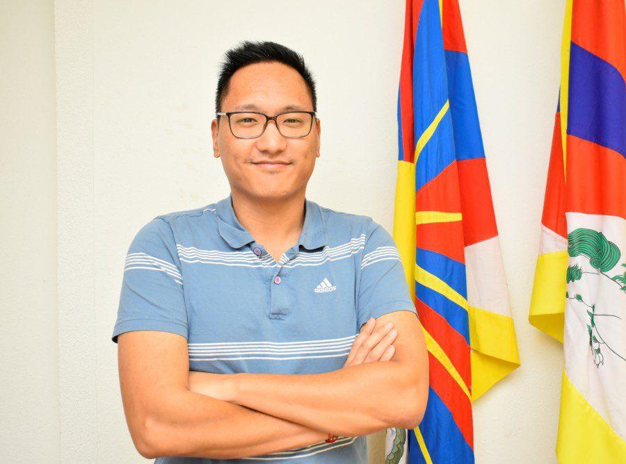 Jigme Adotsang, co-président Verein Tibeter Jugend in Europa (VTJE)