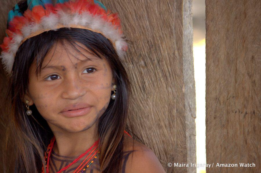 Fille Munduruku. Photo: Maira Irigaray/Amazon Watch
