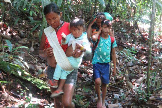 Grâce à la démarcation, les Mundurukú peuvent sécuriser leurs terres pour la prochaine génération. La SPM les soutient dans cette démarche !