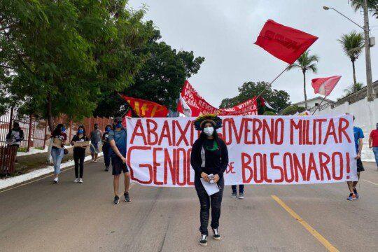 Manifestation Brasilia juin 2021