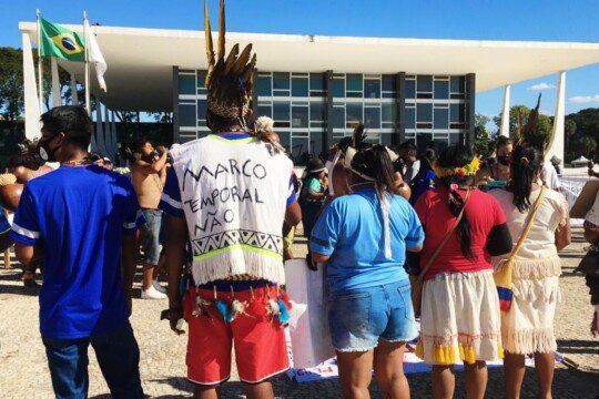 Protest Brasilia Juni 2021