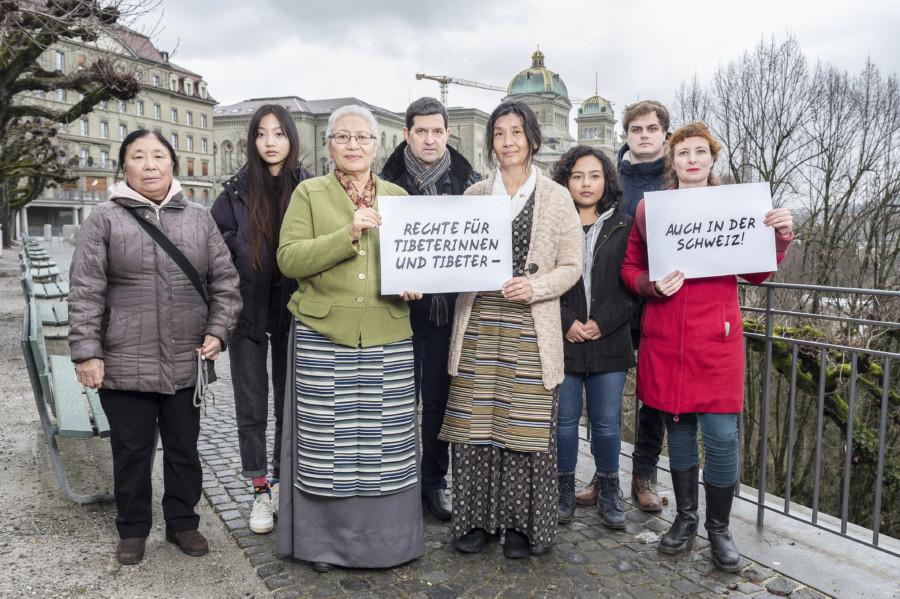 Rechte für Tibeterinnen und Tibeter. GfbV: Franziska Rothenbühler 2